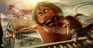 Musuhnya Titan Di Luar Dinding Serta Terwujudnya Impian Eren, Armin, Dan Mikasa