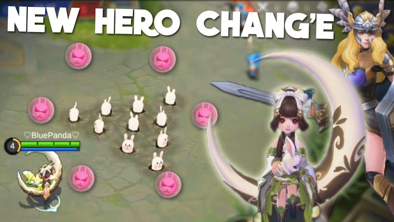Skill Hero Chang'e Mobile Legend