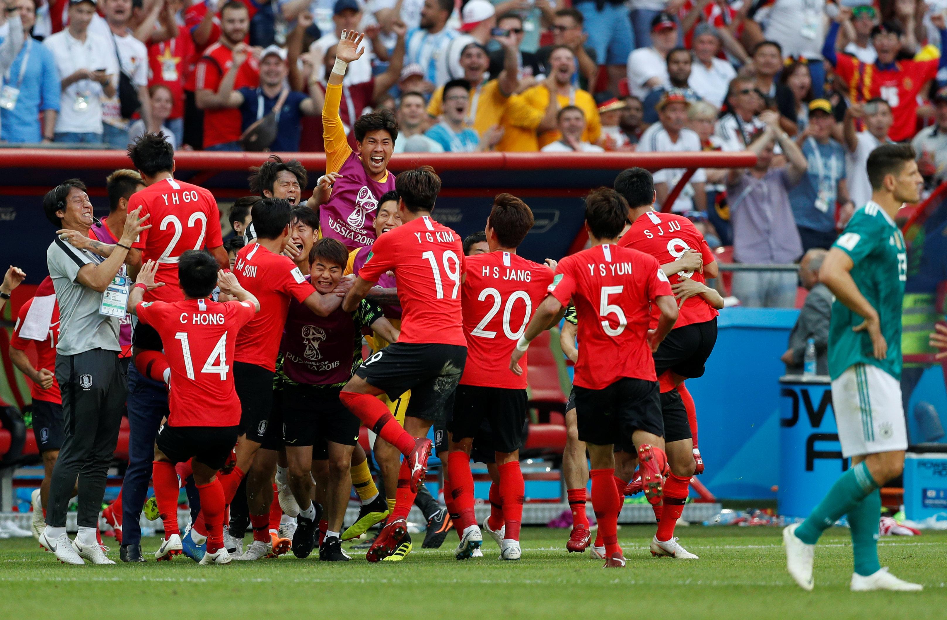 World Cup – Group F – South Korea vs Germany
