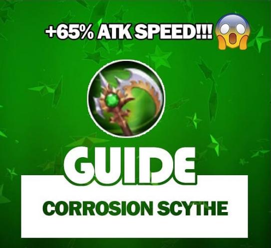 Guide Corrosion Scythe