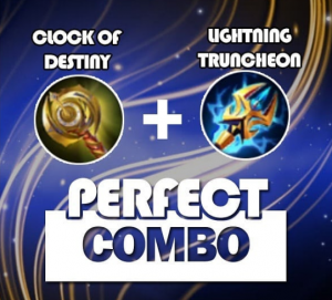 Perfect Combo Clock of Destiny + lightning Truncheon
