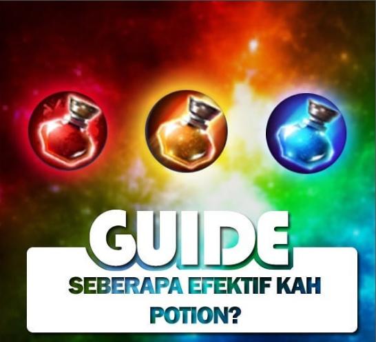 Seberapa Efektif kah Potion?