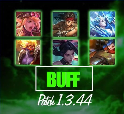 Hero Buff Patch 1.3.44