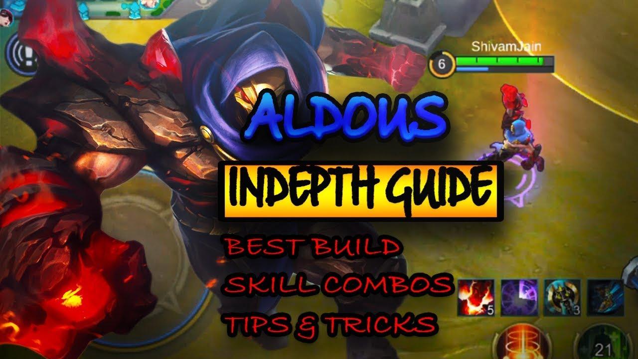Guide Hero Aldous Mobile Legend