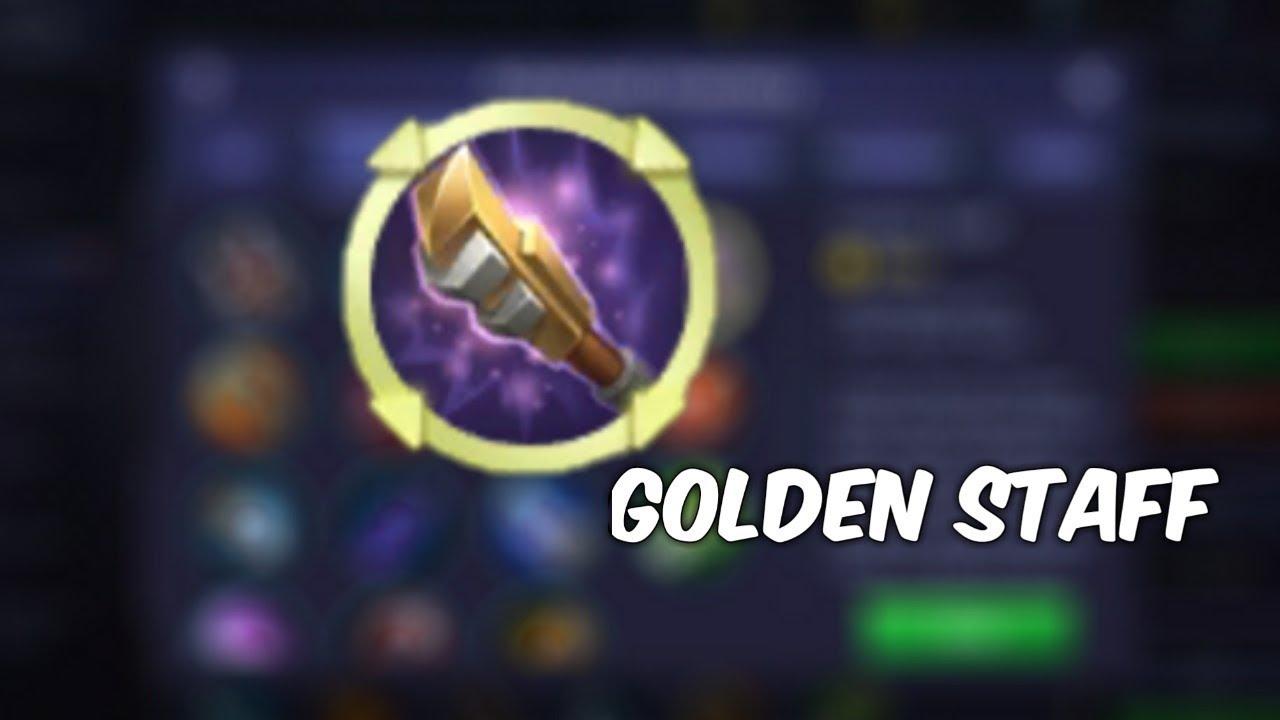 Gold Staf Adjusted
