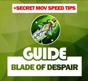 Guide Blade Of Despair