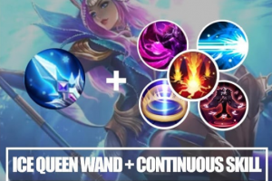 Ice Queen Wand + Continuous Skill